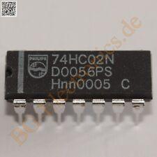 10 Pcs 74hc02d Smd 74hc02 Sop-14 Hc02 Quad 2-input ni puerta
