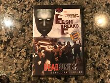 Flesh Freaks/Dead Hunter Dvd! 2000/2009 Horror!