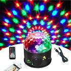 Bluetooth +Speaker Party Light Disco Lights 9 Colors 9W Magic Ball Projector