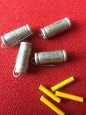 4 x MBM Paper in Wax capacitors - 0.05 uF MBM for Fender / Gibson guitars
