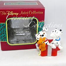 The Disney Artist Collection 101 Dalmatians Pups Ornament Puppy Box Lucky Pongo