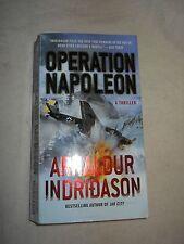 Operation Napoleon  by Arnaldur Indridason (2013, Paperback