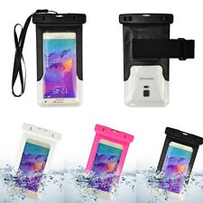 Clear Waterproof Pouch Dry Bag Case For LG G6 G5 LG Optimus G Pro LG G Vista HTC