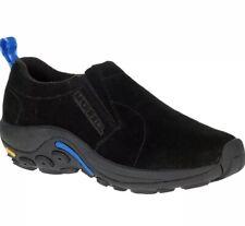 Merrell Womens Jungle Moc Ice + Black Nubuck Slip On Shoes Size 6