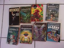 lot 8 anthologies de science fiction avec nouvelles de  PHILIP K DICK Univers..