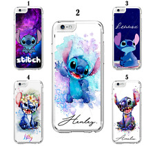 Personalised Custom Name Lilo Stitch Case For iPhone 6 7 8 XS SE 11 12 Mini Pro