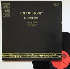 """Vinyle 33T Gérard Manset  """"La mort d'Orion"""""""