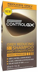 Just For Men Control GX Grey Reducing Shampoo and Conditioner