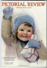Pictorial Review 1916 Bessie Pease Gutmann Christmas Dolly Dingle Paper Dolls