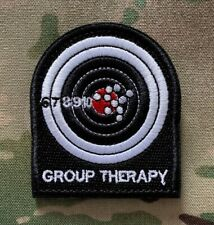 Group Therapy, Patch, SAS, Military, Army, Black, SWAT, Police, Subdued, Morale