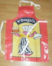 Vintage McDougalls Flour PVC Coated Apron, Child's Size, Advertising