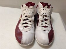 Nike Air Max Lebron Soldier 5 V Red/White Men Basketball Shoe 454141 110 Sz 9.5
