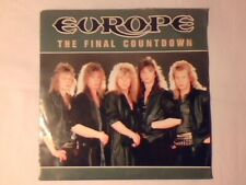 """EUROPE The final countdown 7"""" HOLLAND JOEY TEMPEST COME NUOVO LIKE NEW!!!"""