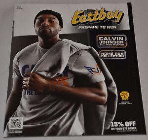MINT! Eastbay Catalog CALVIN JOHNSON Cover Detroit Lions #81 Nike (August 2013)