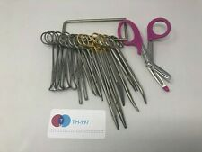 Aesculap Surgical Orthopedic Retractor Scissors Clamp Instrument Lot