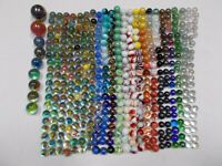HUGE Lot of 454, 5+ lbs Marbles Vintage & Modern Types Cats Eye Swirl Shooters