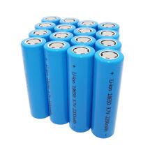 16pcs 18650 2200mAh 3.7V Li-ion High Drain Batería Rechargeable Battery-Notebook