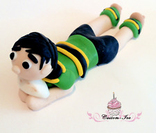 Edible rugby player Birthday Cake Topper Icing Decoration