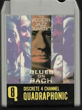 Quadraphonic 8-Track / 8-Spur Tonband : Modern Jazz Quartet - Blues on Bach QUAD