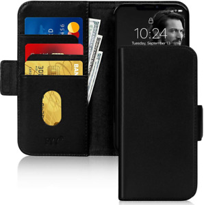 iPhone 12 Pro Max Genuine Leather Case Apple RFID Blocking Flip Wallet New Cover