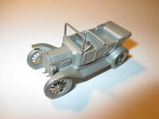 Ford Model T (1914) open tourer, Zinn Pewter, Danbury Mint ca. in 1:60!