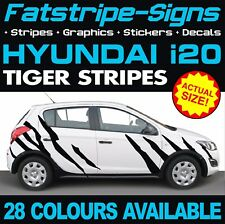 HYUNDAI i20 TIGER STRIPES GRAPHICS STICKERS DECALS CAR ACTIVE ELITE 1.0 1.2 1.4
