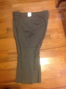 Horace Small Mens Uniform Pants 52R Hemmed To 27 Dark Gray, NWT