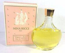 Rare Nina Ricci Coeur Joie Eau de Toilette Paris 6.6 fl oz Lalique
