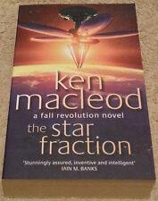Ken MacLeod SIGNED The Star Fraction (Paperback)