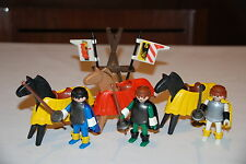 Playmobil 3265 c) caballo medievales vintage ritter knight