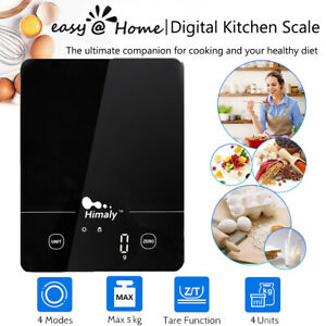 5KG  Kitchen Scales Digital LED Electronic Cooking Baking Food Weighing Scale UK