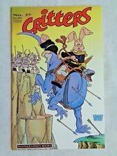 Critters No. 27 August 1988 Fantagraphics Books First Print April 1988 NM (9.4)