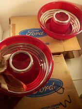 "PAIR original 1962-vintage (NOS) Ford ""THUNDERBIRD ~ TAIL LIGHT ~ LENSES"" in Box"