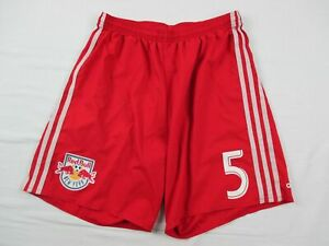 New York Red Bull adidas Shorts Men's Red Poly Used Multiple Sizes
