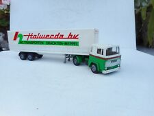 1:50 TEKNO SCANIA 141 TRUCK WITH TRAILER HOLWERDA  TRANSPORTNMINT SALE!!!!