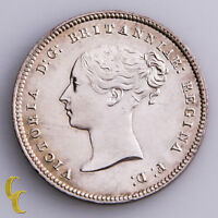 1856 Great Britain 4 Pence Silver Coin KM# 732