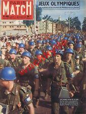 Paris Match n°400 - 08/12/1956 Égypte ONU JO Melbourne Hongrie Seberg Puyi Chine