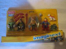 Fisher Price Imaginext Dc Super Friends New Heroes Hawkman Green Lantern Batman