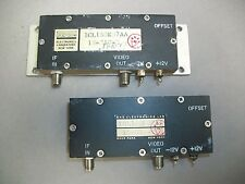Lot Of 2 Rhg Electronics Icl160k07aa Intermediate Frequency Amplifier Used