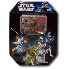 Topps Sammelkarten-STAR WARS Force Attax Tin Box Serie 2, englisch NEU+OVP
