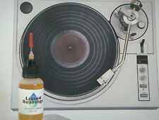 Liquid Bearings, Best 100%-synthetic oil for Jvc or any turntable or phonographs