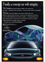 1995 Buick Riviera - concept - Classic Vintage Advertisement Ad D05