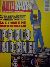 Auto & Sport ROMBO 16 1995 Gp Brasile vittoria ridata a Michael Schumacher