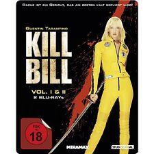 BLU-RAY  KILL BILL Vol. 1 + 2 STEELBOOK  (von Quentin Tarantino) - NEU & OVP
