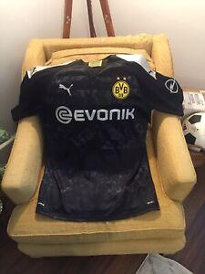 Puma Borussia Dortmund BVB 2019/20 Reyna #32 Away Jersey Men's Size Large