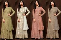 Indian Anarkali Salwar Kameez Suit Ethnic Pakistani Wedding Dress Shalwar KR
