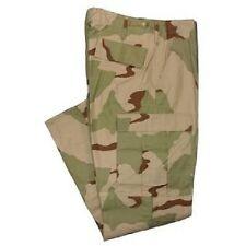 US ARMY DCU 3 color Desert Combat Uniform pants trousers Hose Medium Short