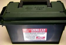 MTM 30 Caliber Tall  Ammo Can Military Style  AC30T-11 Forest Green NEW