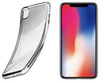 Für Apple iPhone X Case Schutz Hülle Clear Ultraslim Silikon Cover Tasche TPU OU