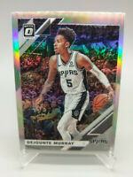 Dejounte Murray Donruss Optic Silver 2019 2020 #107 San Antonio Spurs